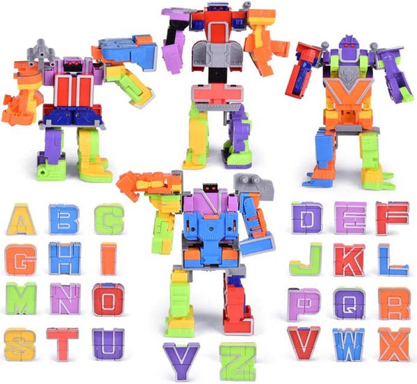 Transforming Robot Toy - 30 pcs | Fun Little Toys