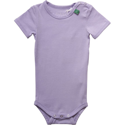 Lavendar Alfa Short Sleeve Bodysuit | Fred's World