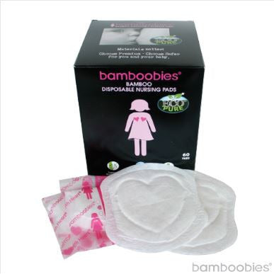 Bamboobies - Bamboo Disposable Nursing Pads - 60 - Nature Baby Outfitter