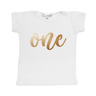 One Tee Shirt - White| Sweet Wink