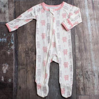 Pink Bears Bestaroo Footies - Nature Baby Outfitter