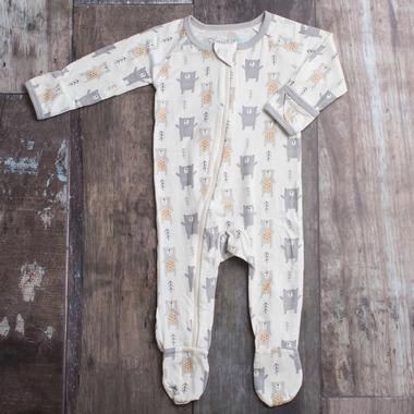 Grey Bear Bestaroo Footies - Nature Baby Outfitter