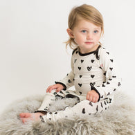 Hearts Coverall | Bestaroo - Nature Baby Outfitter