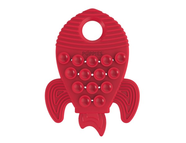 Red the Rocket Teether | Poppies Toys