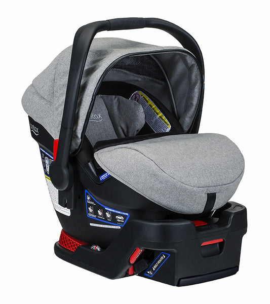 Britax B-Safe Ultra Infant Car Seat - Nanotex (Moisture, Odor, and Stain Resistant Fabric) - Nature Baby Outfitter