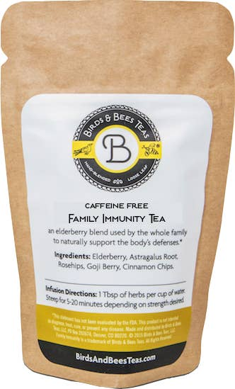Family Immunity Tea | Birds & Bees Teas