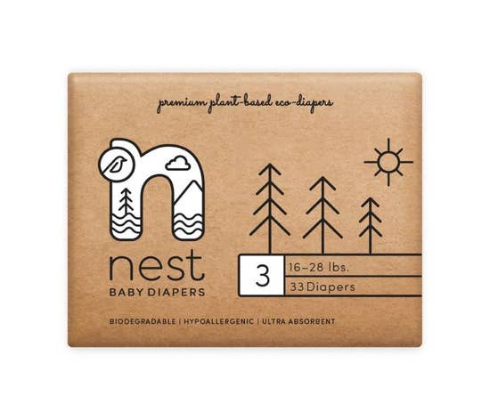 Nest Plant Based Disposable Diapers | Nest
