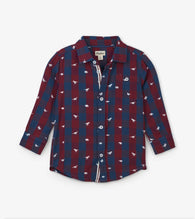 Silhouette Rex Button-Down Long Sleeve Top | Hatley