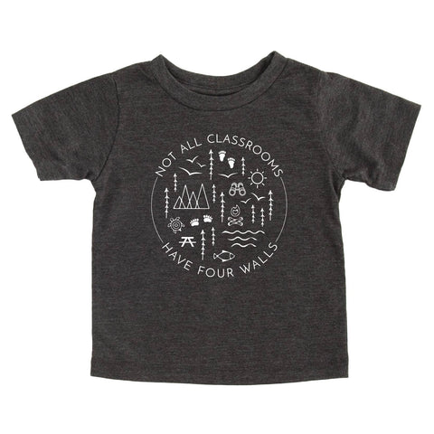 Dark Gray 'Four Walls' Tee | Nature Supply Co.