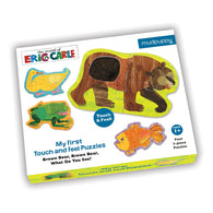 Brown Bear Touch & Feel Puzzle Book | Chronicle Books