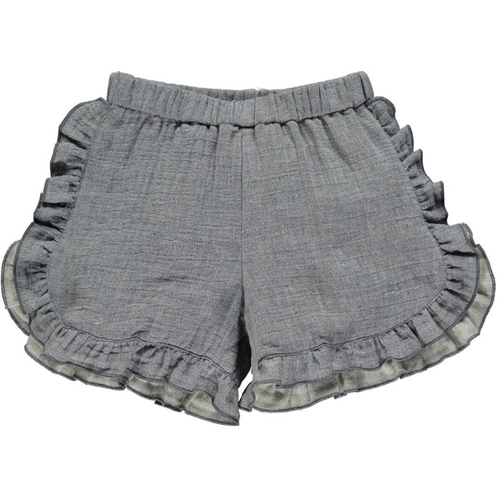 Navy Gray Cecily Shorts | Vignette