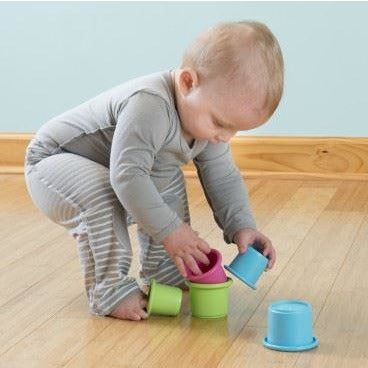 Stacking Cups | Sprout Ware Made From Plants - Nature Baby Outfitter