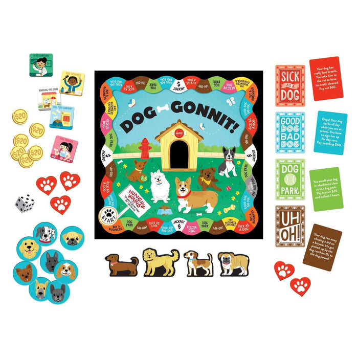 Dog-gonnit! Board Game | Chronicle Books
