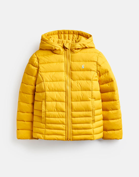 Antique Gold Cairn Packaway Padded Jacket | Joules