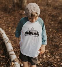 Let's Go To The Mountains Raglan | Made of Mountains
