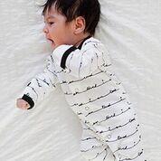 White I Am Loved Footed Overall | Lovedbaby - Nature Baby Outfitter