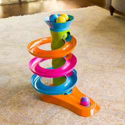 Roll Again Tower | Fat Brain Toy Co.