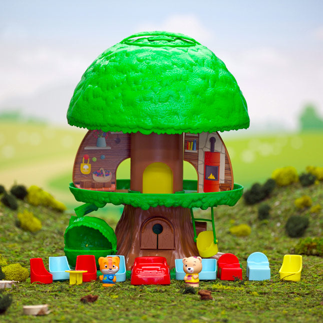 Timber Tots Tree House | Fat Brain Toy Co.