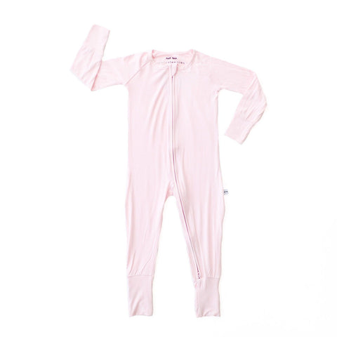 Pink Convertible Romper/Sleeper | Little Sleepies