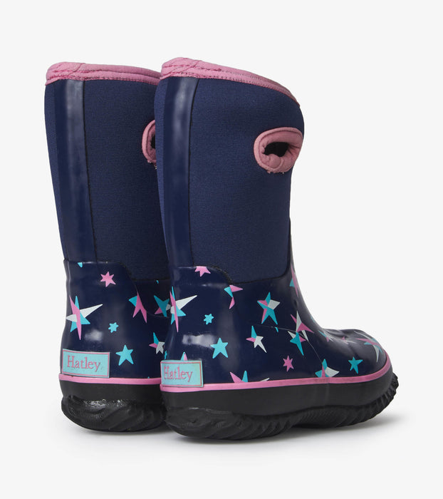 Twinkle Stars All Weather Boots | Hatley