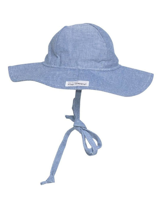 Chambray Floppy Sun Hat | Flap Happy