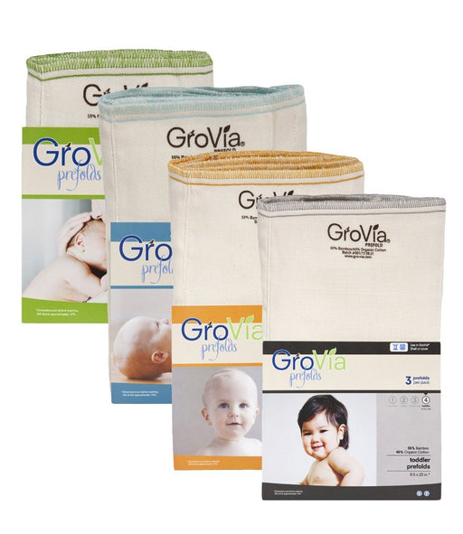 Prefold Diapers | GroVia - Nature Baby Outfitter