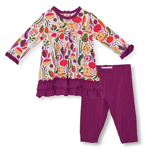Home Grown Magnetic Modal Dress & Pant Set | Magnetic Me