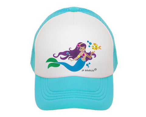 Mermaid Trucker Hat | JP DOoDLES