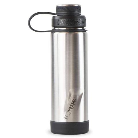 Silver Express Insulated Stainless Steel 20 oz Bottle | EcoVessel