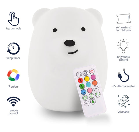 Portable Bear Nightlight | LumiPets