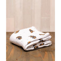 Bison Cotton Muslin Quilt | Little Unicorn - Nature Baby Outfitter