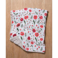 Summer Poppy Cotton Muslin Quilt | Little Unicorn - Nature Baby Outfitter