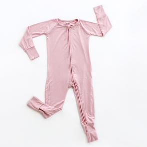 Mauve Convertible Romper/Sleeper | Little Sleepies