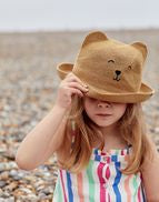 Ashton Character Straw Animal Hat | Joules
