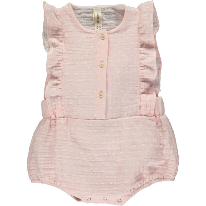 Rose Megan Bubble Romper | Vignette