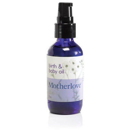 Birth & Baby Oil | Massage Oil by Motherlove - Nature Baby Outfitter