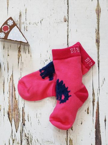Pink Stegosaurus Socks | Blade & Rose Ltd.