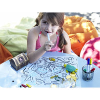 Silicone Coloring Mat with 4 markers - Nature Baby Outfitter