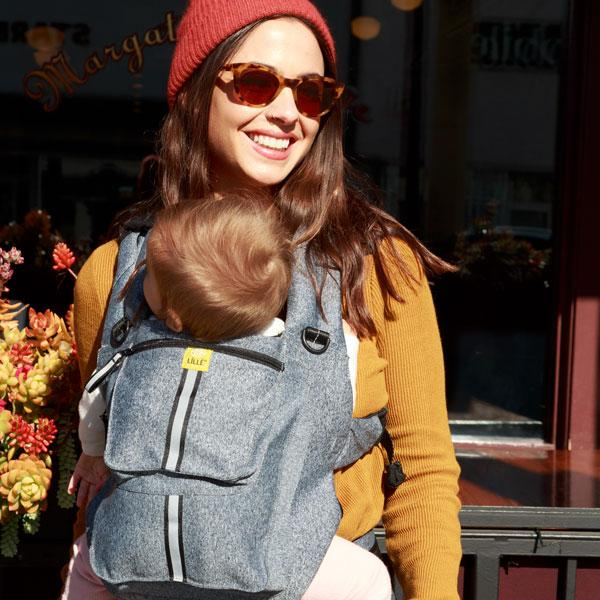 Heathered Gray | Pursuit Pro 6 Position Baby Carrier | LILLEbaby