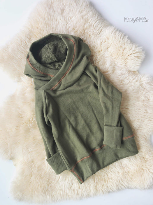 Evergreen Grow with Me Pullover 1-3 Years | Matey & Me