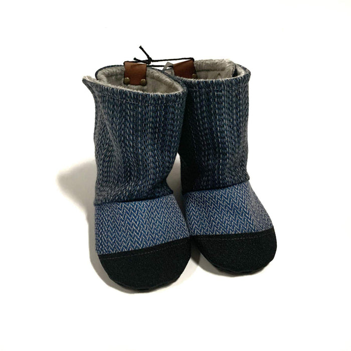 Wrap Scrap Booties | Bear Cub Clothing