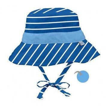 Royal Stripe Reversible Bucket Sun Hat - Nature Baby Outfitter