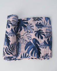 Tropical Pink Swaddle Blanket | Little Unicorn