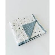 Gone Fishing Deluxe Muslin Quilt | Little Unicorn