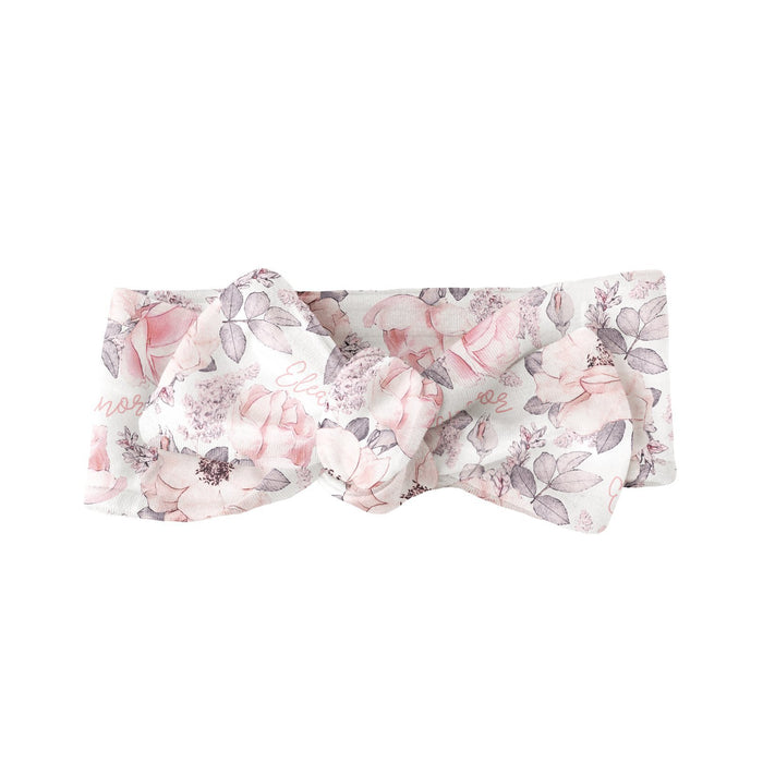 Personalized Bow  - Wallpaper Floral | Sugar + Maple