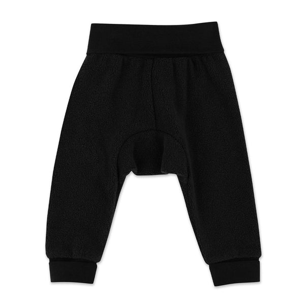 Black Cozie Fleece Cuff Pant | Zutano
