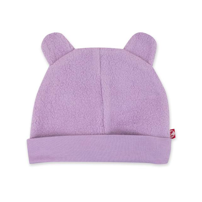 Lilac Cozie Fleece Hat | Zutano
