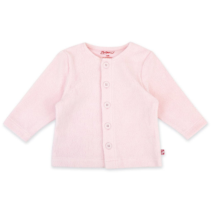 Baby Pink Cozie Fleece Jacket | Zutano