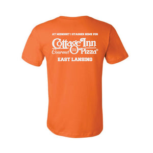 Cottage Inn Team Stagger Home Pizza T-Shirt