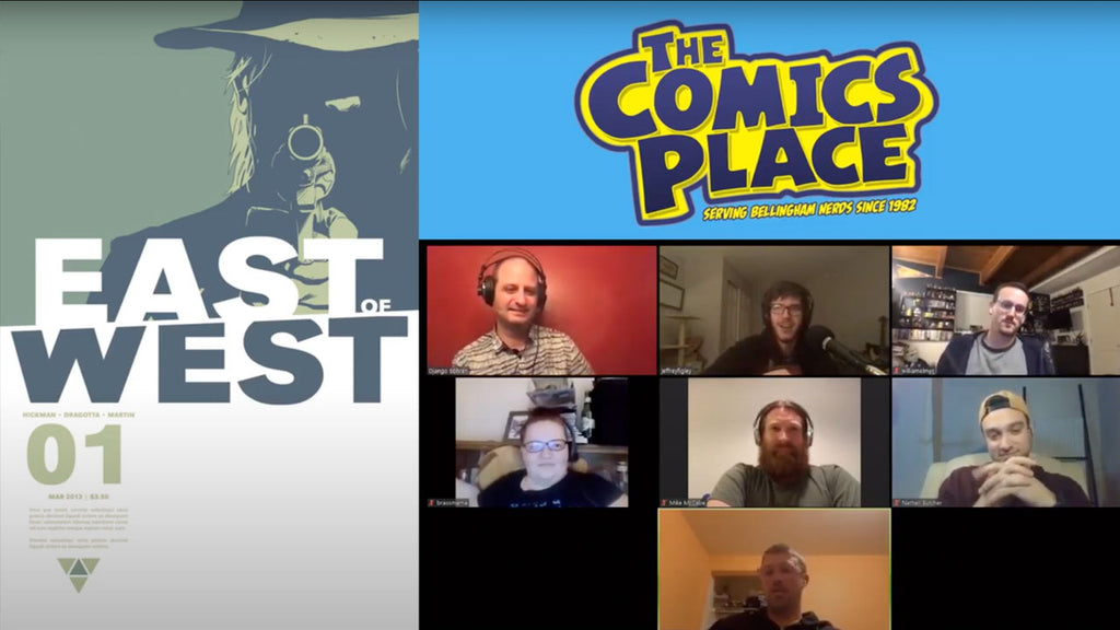 Comics Place Book Club - East of West Vol 2